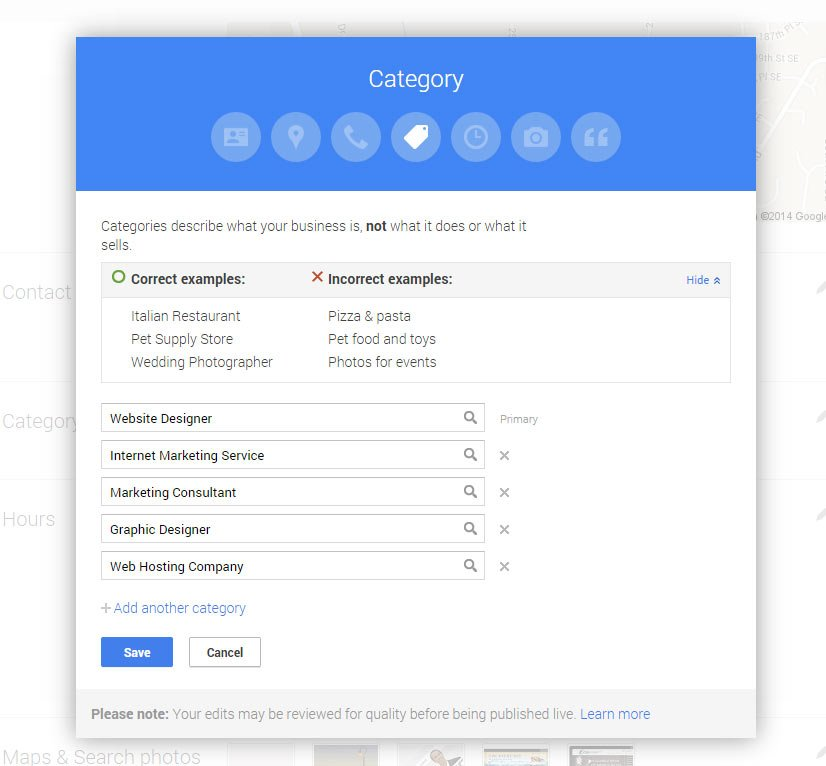 google-places-categories