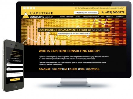 Consulting Group Web Design